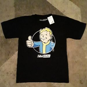 NWT Mens Fallout Shelter Graphic T Shirt Small